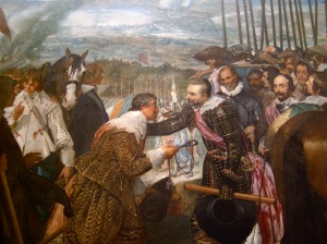 Las Lanzas. Diego de Velázquez.