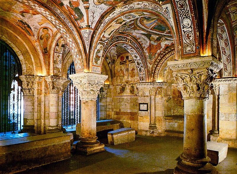 Las pinturas de San Isidoro deLeón
